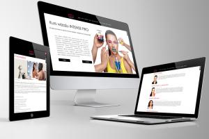 Strona internetowa pro make up academy