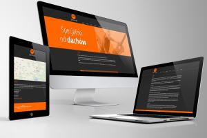 Strona internetowa dla producenta dachów